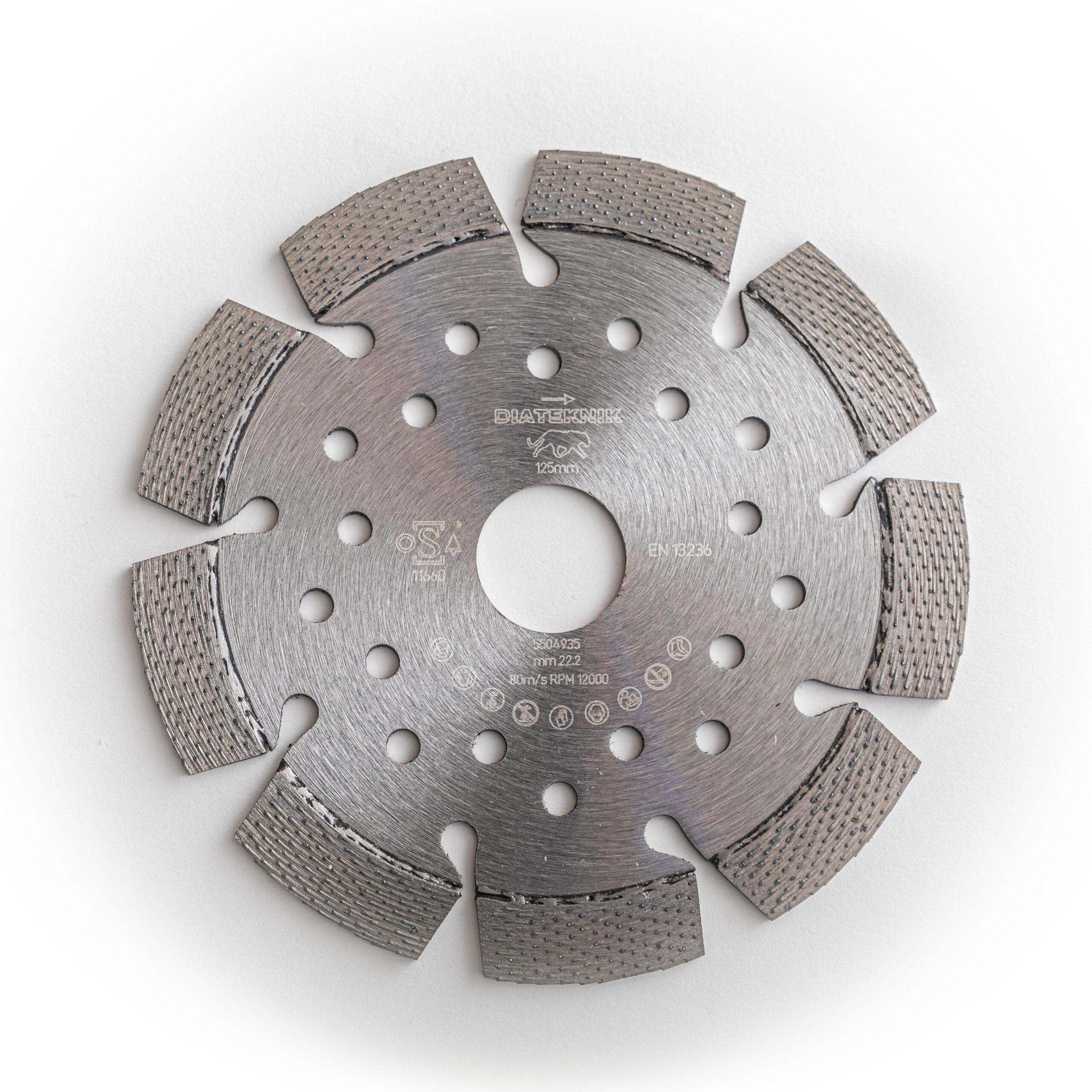 Diamantklinge 125 mm
